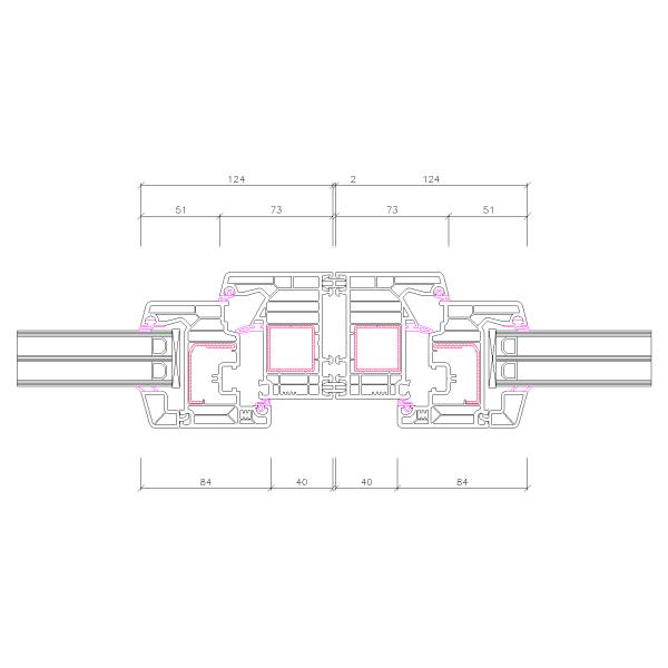 Kopplungsfeder 2mm Spaltmaß