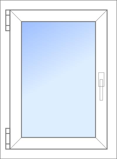 Konfigurator: Fenster-1tlg-1xDK, DKR