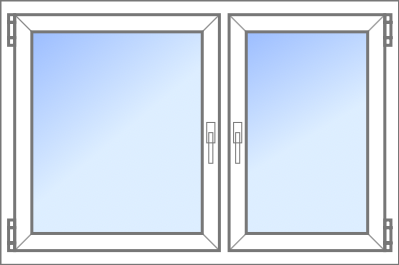 Konfigurator: Fenster-2tlg-1xDK-1xDKDS, DKR-DKL