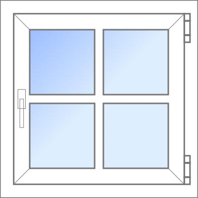 Konfigurator: Fenster-1tlg-1xDK, DKL