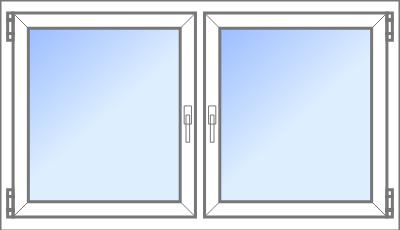 Konfigurator: Fenster-2tlg-1xDK-1xDKDS, DS-DKL